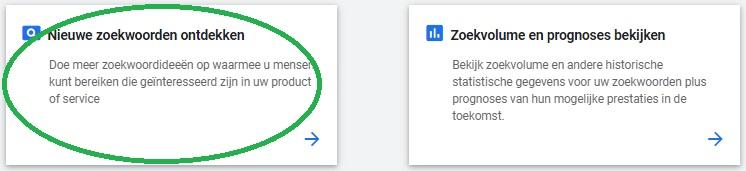 Nieuwe Zoekwoorden Ontdekken in de Google Zoekwoordplanner